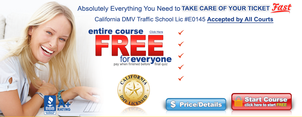 California approved defensive driving online